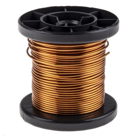 CUL 100/1,00 | Enamelled copper wire 1,0mm 100gr | RS Components