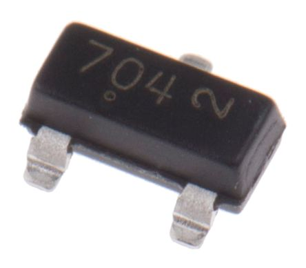 N-Channel MOSFET, 380 mA, 60 V, 3-Pin SOT-23 ON Semiconductor 2N7002KT1G