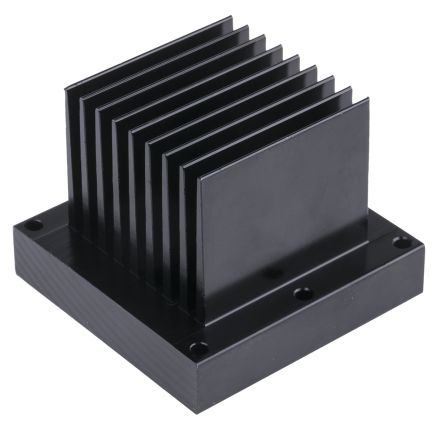 Heatsink, Dragon 1, Duris 1, Duris 4, Oslon 1, Oslon 16, Oslon 4, Oslon 9, Stanley 1, Stanley 4, 70 x 70 x 55mm, Screw