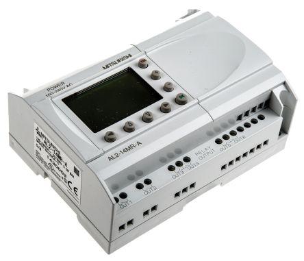 Alpha 2 Logic Module, 100 -> 240 V ac, 8 x Input, 6 x Output With Display product photo