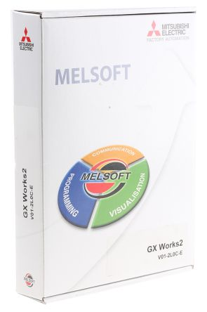 Mitsubishi PLC Programming Software 1 87 for use with FX PLC Series for  Windows 2000, Windows 7, Windows Vista, Windows
