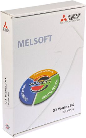 Mitsubishi PLC Programming Software 1 87 for use with FX PLC Series for  Windows 2000, Windows 7, Windows Vista, Windows
