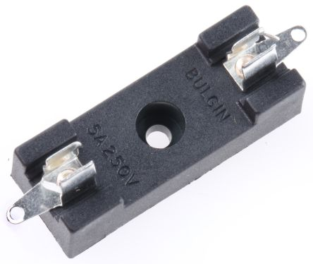5A Base Mount Cartridge Fuse Holder for 6.3 x 32mm Fuse, 250V product photo