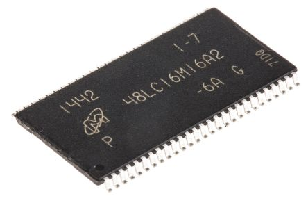 Micron MT48LC16M16A2P-6A:G, SDRAM 256MB Surface Mount, 54-Pin TSOP