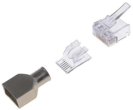 Wondrous 5 1375202 2 Commscope Male Cat6 Rj45 Connector Rs Components Wiring Digital Resources Hutpapmognl
