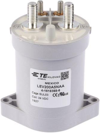 TE Connectivity KILOVAC LEV200 Contactor, NO, 500 A