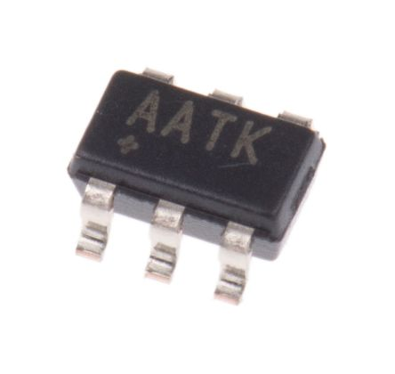 Maxim MAX5026EUT+T, 1-Channel, Step Up DC-DC Converter, Adjustable 6-Pin, SOT-23