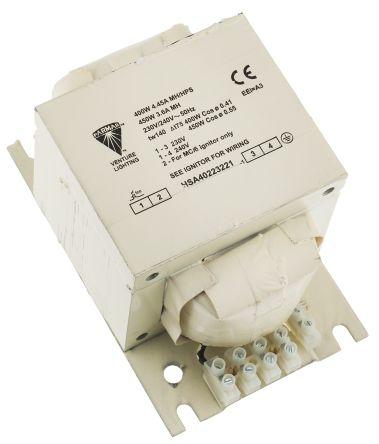 400 W, 450 W Electromagnetic SON Lighting Ballast, 220 → 240 V