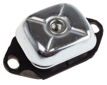 RS Pro Diamond M12 Anti Vibration Mount Elastomer