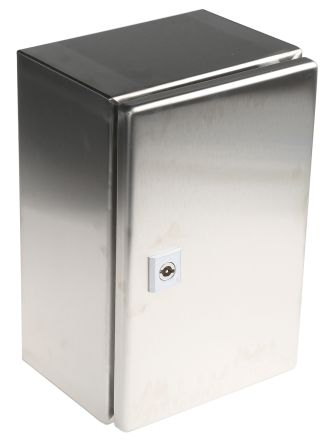 AE IP66 Wall Box, 304 Stainless Steel, Unpainted, 300 x 200 x 155mm