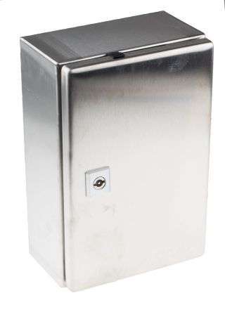 AE IP66 Wall Box, 304 Stainless Steel, Unpainted, 300 x 200 x 120mm