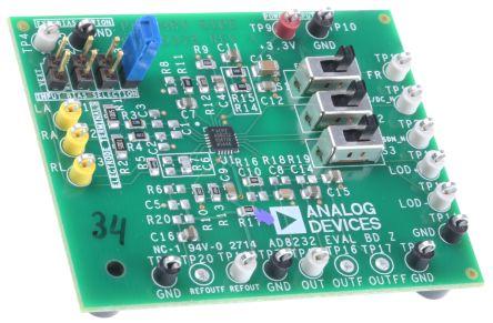 Analog Devices AD8232-EVALZ ADC Development Kit for AD8232