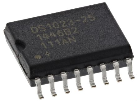 DS1023S-25+, Delay Line Circuit, 8-Taps 154ns, 16-Pin SOIC
