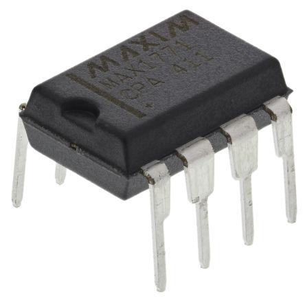 Maxim Integrated MAX1771CPA+, Boost Controller 300 kHz 8-Pin, PDIP