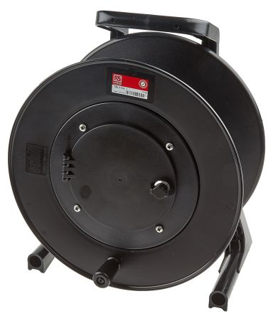 RS PRO Empty Cable Reel 367mm (H) x 229 mm (W) diameter 310mm 1 shelf in Rubber