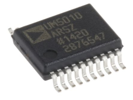Analog Devices ADUM5010ARSZ Isolated DC-DC Converter, Adjustable, 3.15 → 5.25 V 20-Pin, SSOP