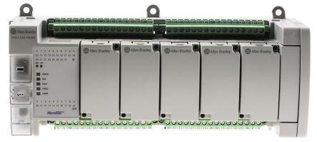 Allen Bradley Micro850 PLC CPU, Ethernet, USB Networking, 28 Inputs, 20  Outputs, 24 V dc