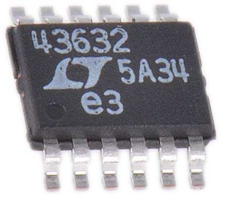 Linear Technology LT4363IMS-2#PBF, Clamper Circuit, 4 to 80 V 12-Pin, MSOP
