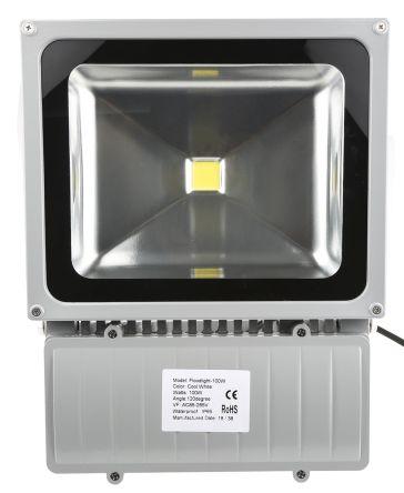 RS PRO Светодиодный светильник заливного света, 85 → 265 В 100 Вт