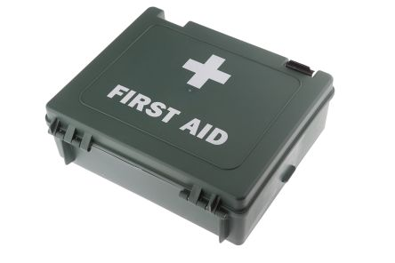 Wall Mounted First Aid Kit for 20 people, 270 mm x 215mm x 85 mm