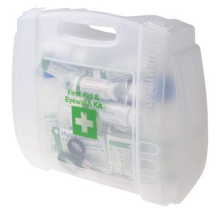 Carrying Case First Aid & Eyewash Kit, 300 mm x 350mm x 120 mm product photo