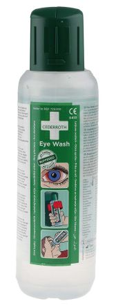 Cederroth 500ml Eyewash Bottle,Pack of 2