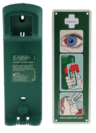 Wall Mounted Eye Wash Bottle Bracket, 500 ml