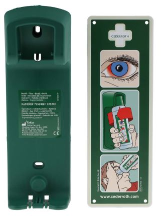 Cd16rs Rs Pro Wall Mounted Eye Wash Bottle Bracket 500