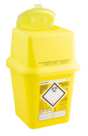 Sharps Bin, 4L product photo