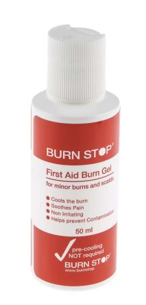 50ml Burn Stop Burn Gel Bottle, 4 Pack