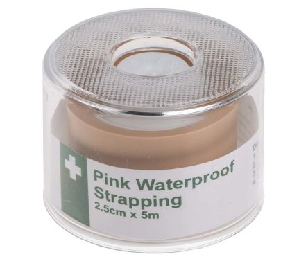 First Aid Tape, 2.5 x 500cm, Pink