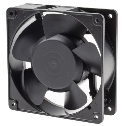 AC Axial Fan, 120 x 120 x 38mm, 180m³/h, 15W, 230 V ac (OA109 Series)