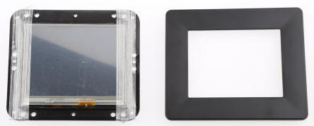 Bridgetek VM800B35A-BK, FT800 Basic EVE 3.5in Resistive Touch Screen Evaluation Module With Black Bezel