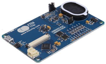 Bridgetek VM800C43A-N, FT800 EVE Credit Card Resistive Touch Screen Evaluation Module