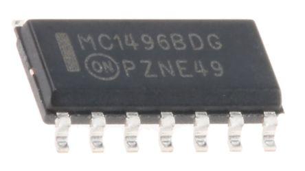 MC1496BDG, Modulator/Demodulator 300MHz Balanced SOIC 14-Pin