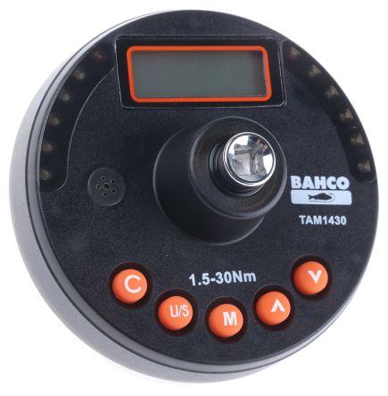 BahcoTAM1430 Square: 1/4in Digital Torque Analyser, Range 1 → 22 lbf-ft, 1.5 → 30 Nm, 13 →
