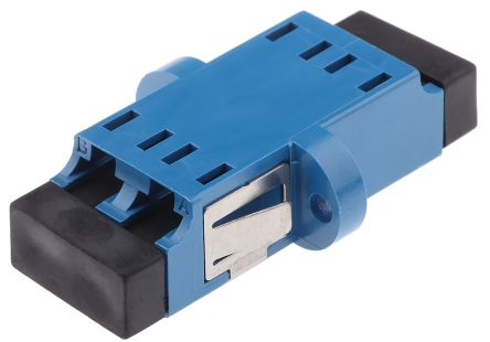 Fibre optic adapters rs components te connectivity lc to lc multimode duplex fibre publicscrutiny Image collections