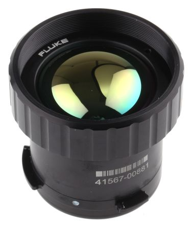 Fluke FLK-LENS/WIDE2 Thermal Imaging Camera Infrared Lens, For Use With Ti200, Ti300, Ti400, Ti450
