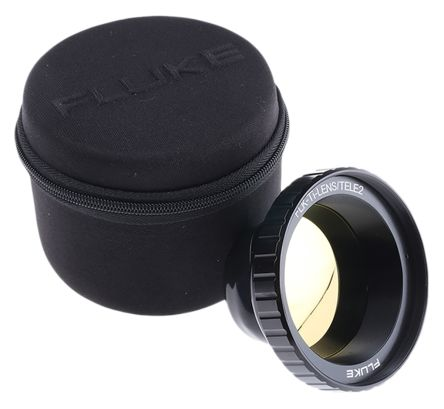 Fluke FLK-LENS/TELE2 Thermal Imaging Camera Infrared Lens, For Use With Ti200, Ti300, Ti400, Ti450