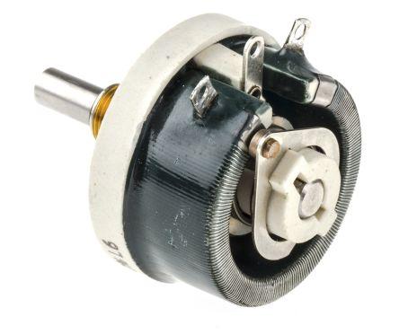 Vishay 25W Wirewound Rheostat, 220Ω, ±10%