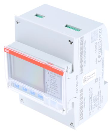 ABB A41 LCD Digital Power Meter, 1 Phase , 1 % Accuracy