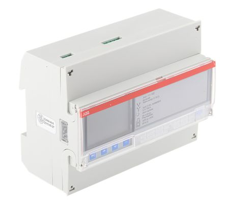 ABB A44 LCD Digital Power Meter, 3 Phase , 1 % Accuracy