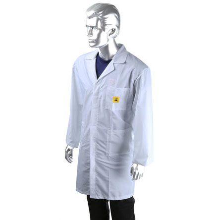 RS PRO White Unisex Reusable Lab Coat, XL