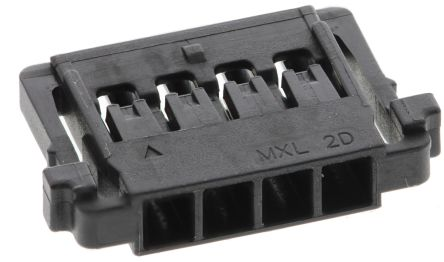 Molex Pico-Lock Female Connector Housing, 1.5mm Pitch, 4 Way, 1 Row