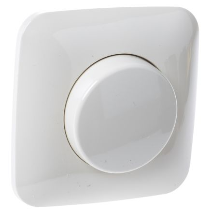 1 Way 1 Gang Rotary Dimmer Switch, 400W, 230 V