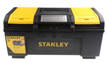 Stanley One Touch Plastic Tool Box 2 drawers  dimensions 486 x 266 x 236mm