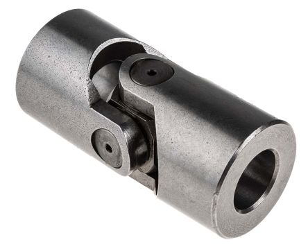 RS PRO Universal Joint, Single, Plain, Bore 16mm, 68mm Length