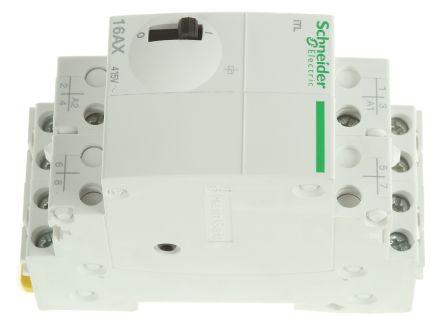 4P Impulse Relay with 4NO Contacts 16 A 110 V dc 230 240 V ac