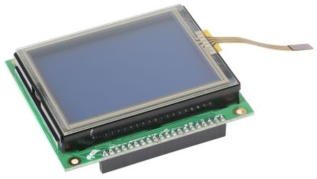 MikroElektronika MIKROE-240, GLCD 128x64 2.8in Resistive Touch Screen Demonstration Board