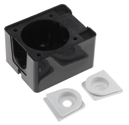 ABL Sursum Thermoplastic Back Box, 1 Gangs, 65 x 53.5 x 38.5mm
